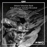CD-Cover: Bach, Dialogkantaten