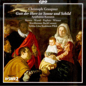 CD-Cover: Graupner, Epiphaniaskantaten